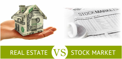 real estate and stock market investment