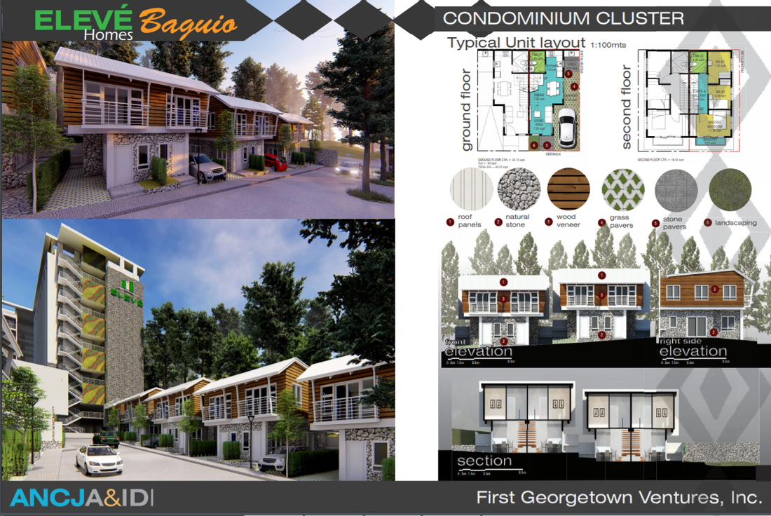 condo cluster layout eleve baguio