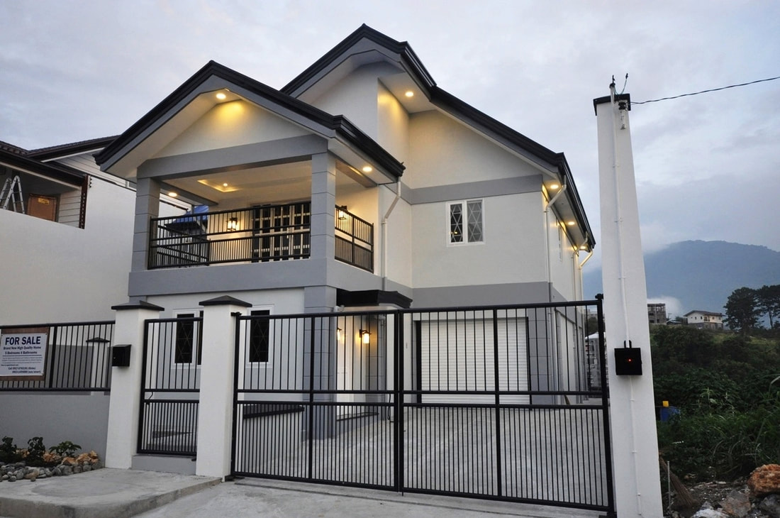 RFO house and lot in Pinewoods Baguio