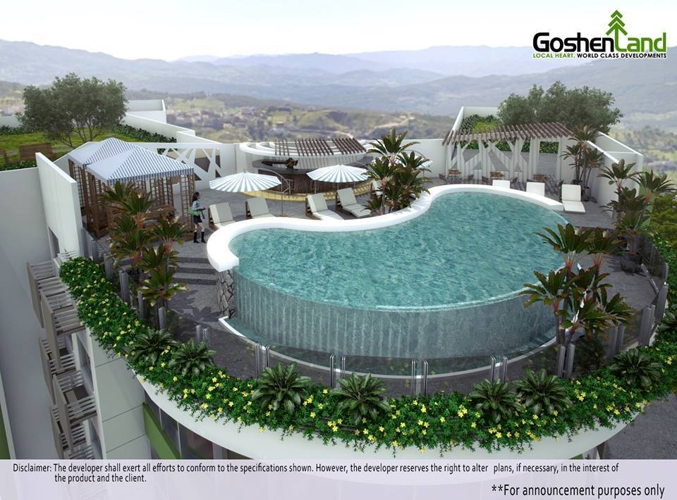 Condominium baguio city 1 bedroom melbourne tower condominiums and house and lot properties in for Melbourne university swimming pool