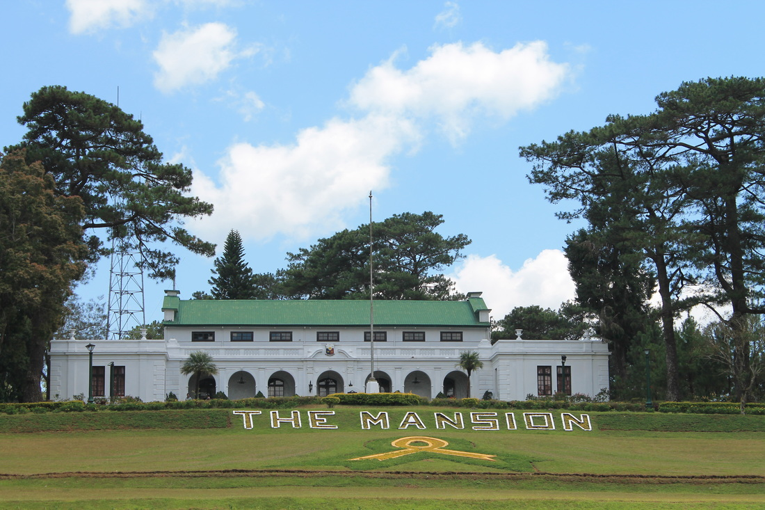 the mansion house in Baguio city