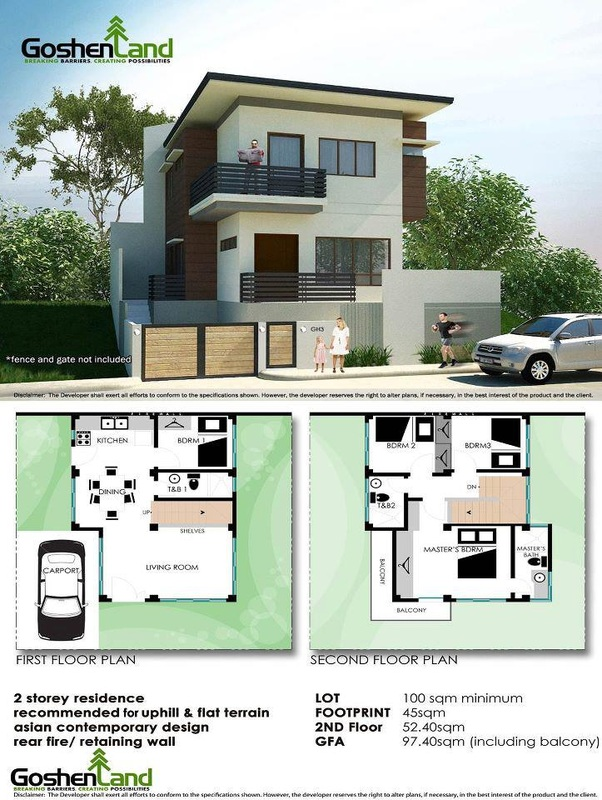 House designs pictures condominiums and house and lot for House designs zen type