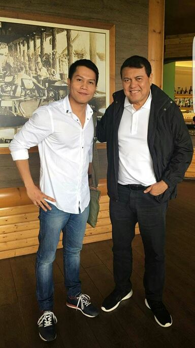 Roman joe Anoso real estate broker with manny villar