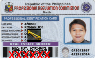 Real estate agent Baguio city Roman joe Anoso