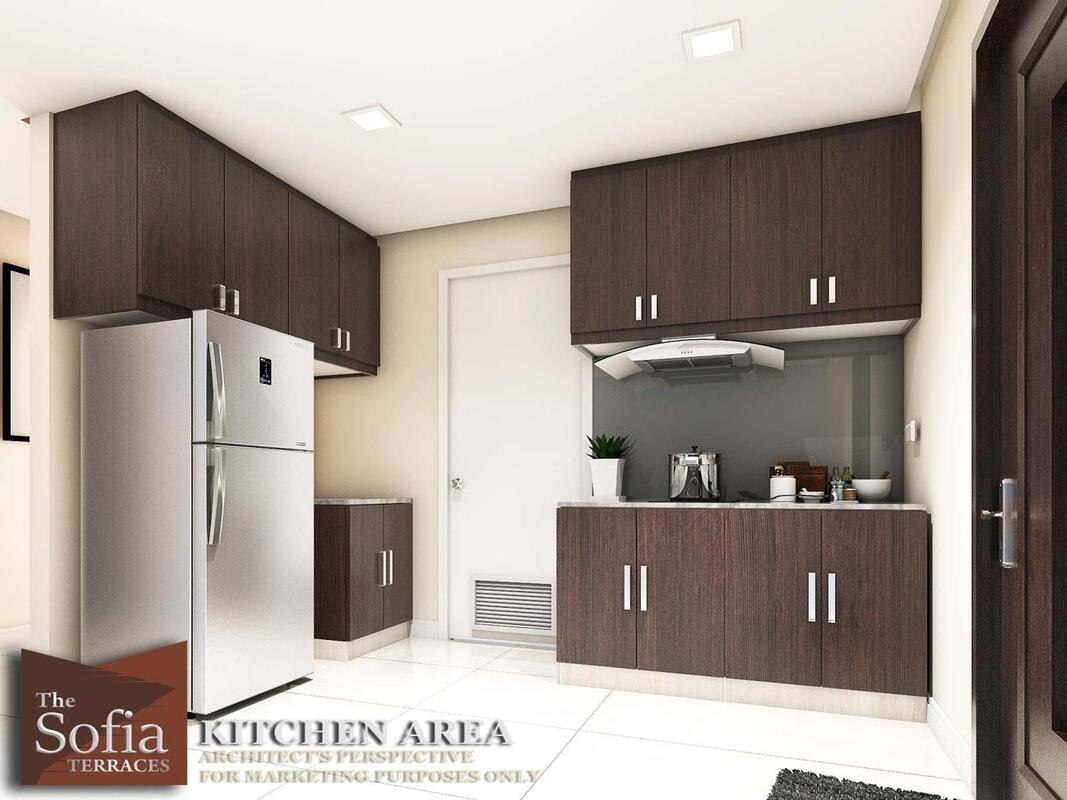 sofia terraces unit perspective kitchen