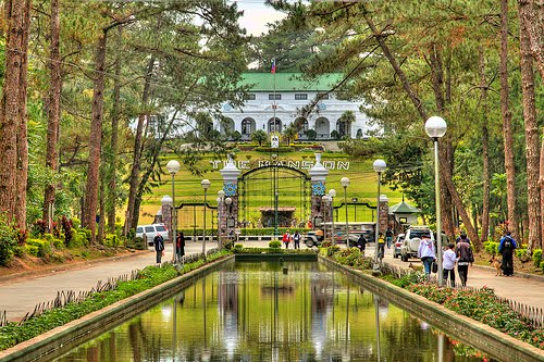 tourist spot the Mansion Baguio city